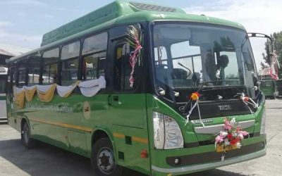 Tata Motors delivers 40 electric buses to J&K