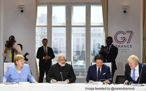Modi talks Biodiversity, Oceans, Climate at G7