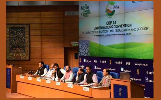 India to restore 50 lakh ha of degraded land by 2030