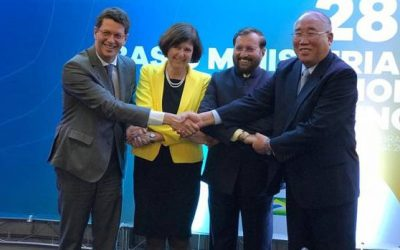 Annual climate finance of $100B a must: BASIC meet
