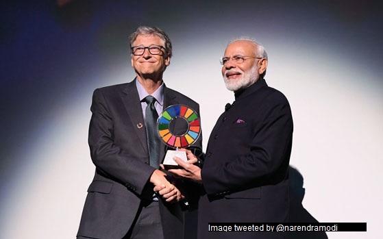 PM receives Gates Foundation award in NY