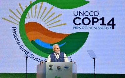 Modi moots holistic land-water goals at UNCCD meet