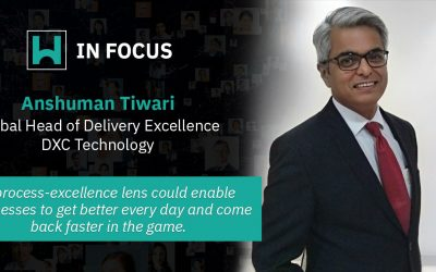 Anshuman Tiwari, Global Head of Delivery Excellence, DXC Technology
