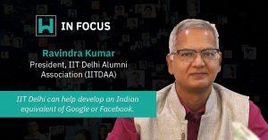 Ravindra Kumar IIT Delhi