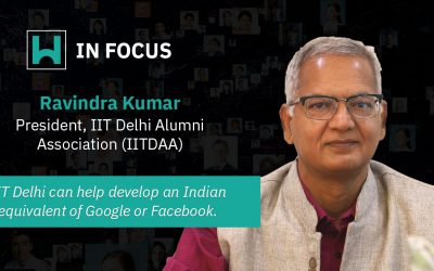 Ravindra Kumar, President, IIT Delhi Alumni Association