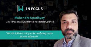 Mahendra Upadhyay CIO